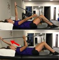 Exercise pour la tendinopathie de l'épaule